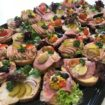 Zestaw kanapek wiejskich 20 szt. na paterze bezzwrotnej